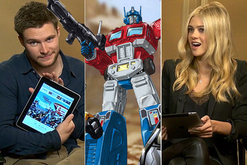 Watch 'Transformers' Stars Nicola Peltz and Jack Reynor Take Our 'Transformers' Personality Quiz!