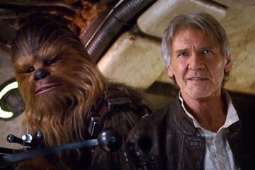 Finally! Han Solo and Chewbacca in the New 'Star Wars' Trailer
