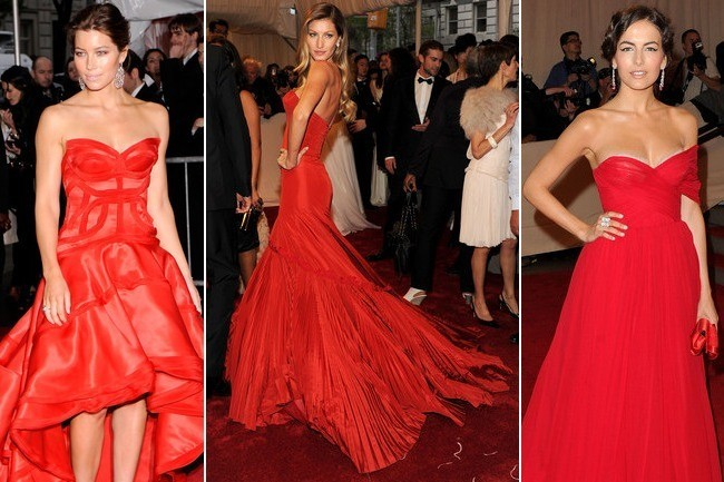 Who Wore the Most Spectacular Red Met Gala Gown Ever?