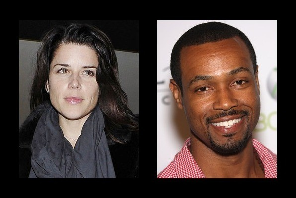 Neve Campbell was rumored to be with Isaiah Mustafa