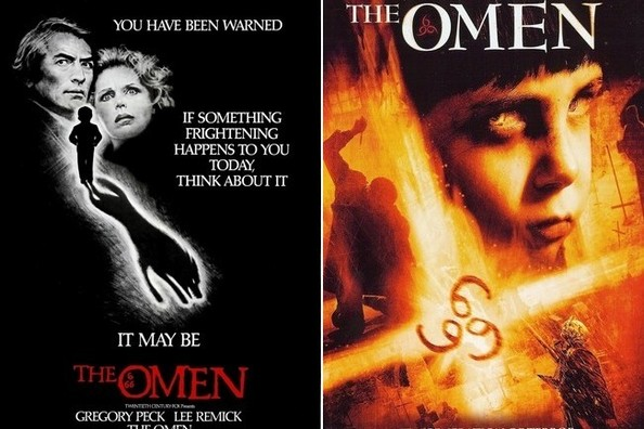 39 the omen 39 movie remakes vs originals you decide zimbio for Portent vs omen