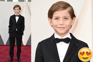 Jacob Tremblay Wins All the Hearts on the 2016 Oscars Red Carpet