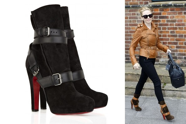 Kylie Minogue's Wrap-Around Louboutin Guerriere Boots
