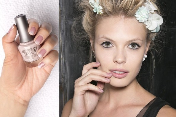 Weekend Beauty Challenge: Update Your Basic Manicure With Feminine Ombre Nail Art