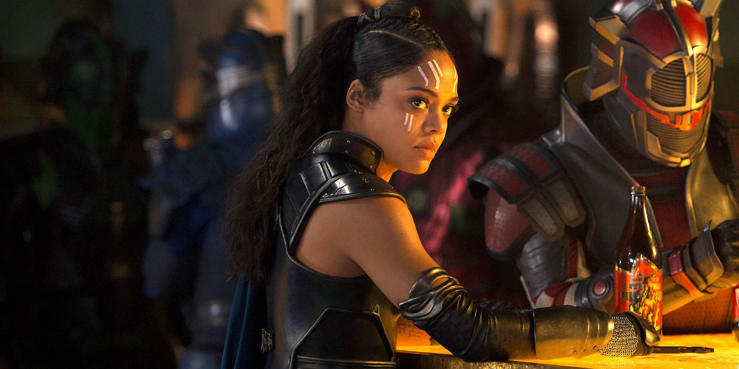 Tessa Thompson in Thor: Ragnarok. (Disney)