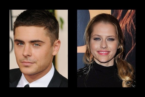 Zac Efron was rumored to be with Teresa Palmer