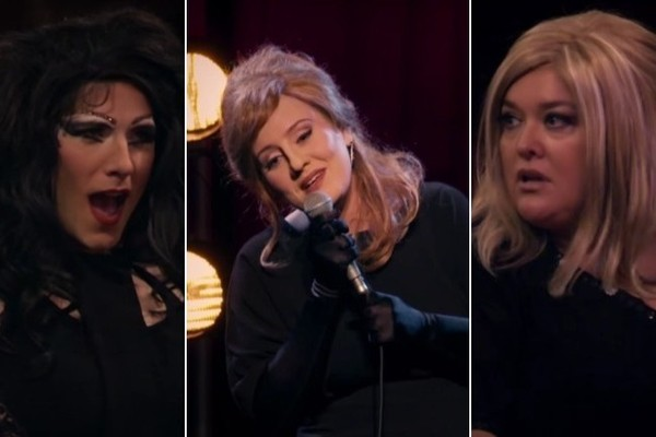 Adele Disguises Herself as Adele Impersonator, Fools Everyone