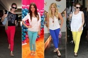 Bright Idea - Colored Denim Sweeps Hollywood