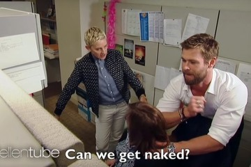 This Secretary Got a Back Massage from Chris Hemsworth, Is Luckiest Woman Alive