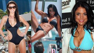 Celebrity Bikini Battle - Brunette Reality Stars