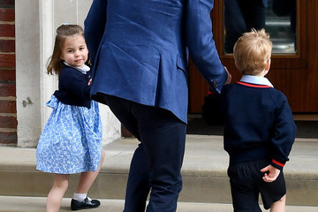 Princess Charlotte Will Keep Her Spot In The Line Of Succession Despite Her Baby Brother's Birth