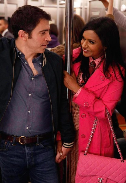 Mindy and danny hookup in real life