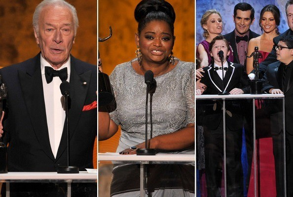 2012 Screen Actors Guild Awards Winners