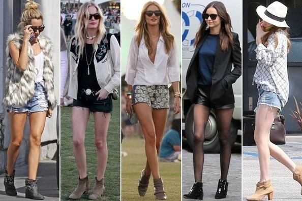 Trending: Shorts and Ankle-Boots