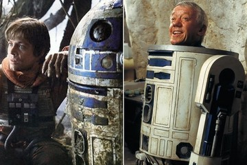 'Star Wars' Legend Mark Hamill Says Heartfelt Goodbye to R2-D2 Actor Kenny Baker After His Passing