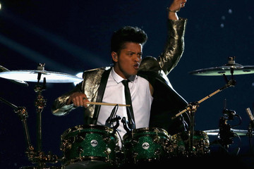 Bruno Mars Brings Fancy Footwork, Shirtless Chili Peppers to the Super Bowl Halftime Show