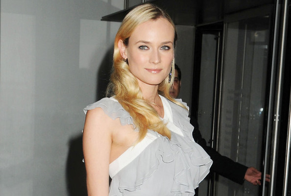 Love it or Loathe it: Diane Kruger's Sheer Ruffle Dress