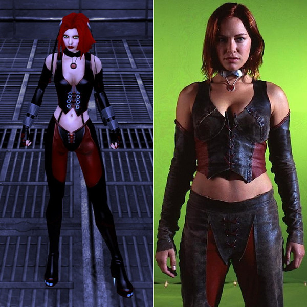 Kristanna Loken In Bloodrayne Video Game Characters And The