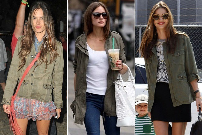 6 Celebrity-Approved Ways to Wear a Utility Jacket