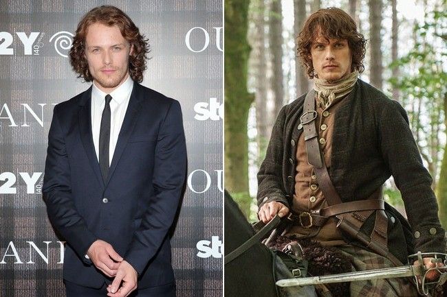 Sam Heughan vs. Jamie Fraser in \u0027Outlander\u0027 , Hotter in