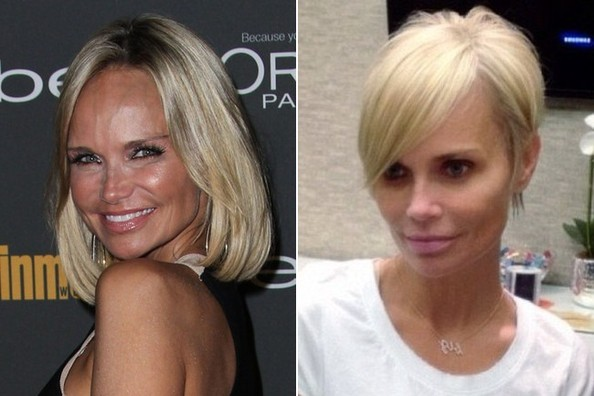 Whoa! Kristin Chenoweth Lopped Off Her Locks, Too