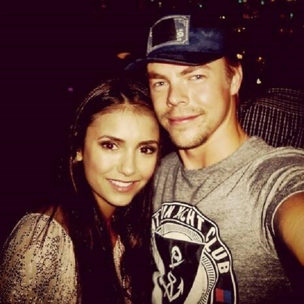 Nina Dobrev And Derek Hough Celebs Who Have Been Accused Of Staged Relationships Zimbio