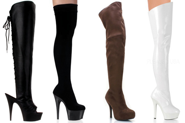 Simple Styling Trick to Try: Slip Into a Pair of Thigh-High Boots