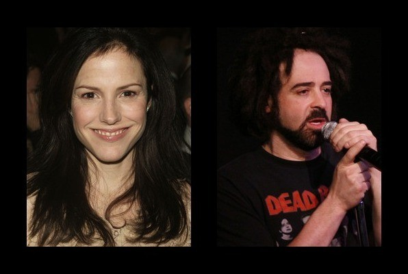 Mary-Louise Parker dated Adam Duritz