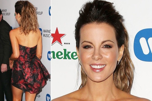 Kate Beckinsale Hustles Her Bustle