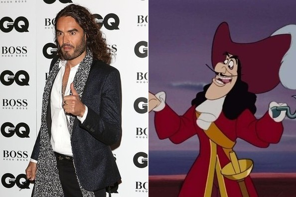 Russell Brand + 'Peter Pan'