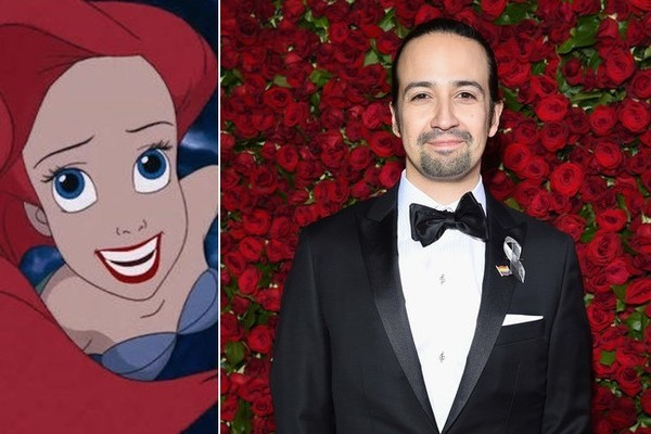 'Hamilton' Creator Lin-Manuel Miranda Is Writing All the Songs for That Live-Action 'Little Mermaid' Movie