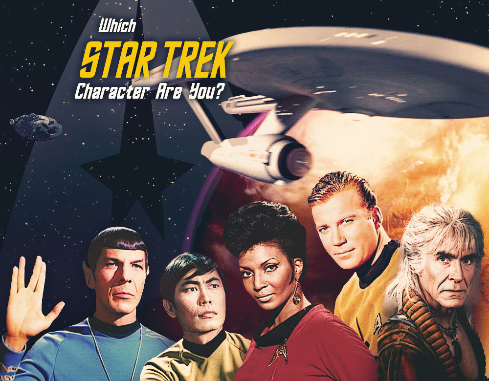 how to draw star trek characters