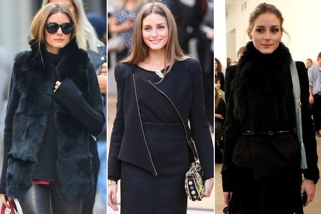 How to Wear Black (and Not Look Boring) Like Olivia Palermo