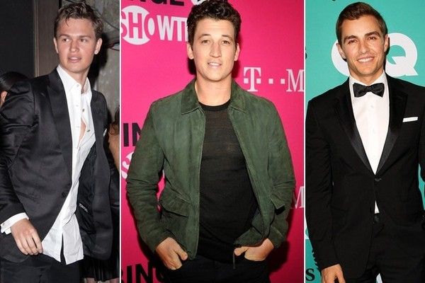 Ansel Elgort, Miles Teller, and Dave Franco on the shortlist to play a young Han Solo.