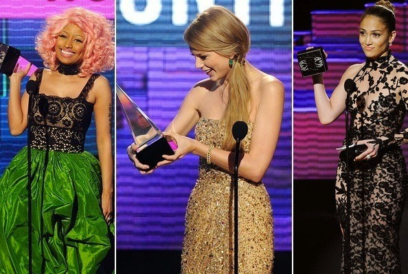 2011 American Music Award Winners