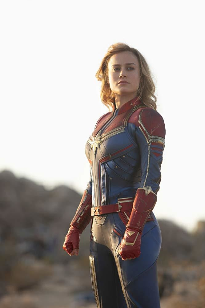 Brie Larson Shares 'Captain Marvel' Train Chase Footage
