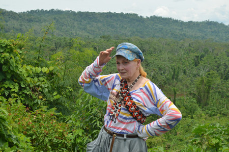 Vivienne Westwood Spent a Week in the Amazon Rainforest for Charity! [VIDEO]