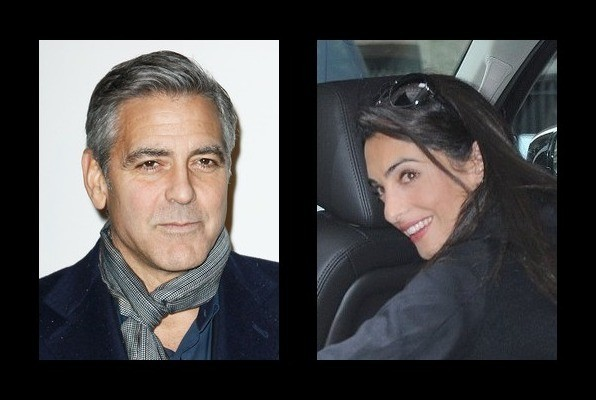 George Clooney is engaged to Amal Clooney