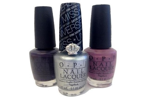 Current Obsession: OPI's MISS UNIVERSE Nail Colors