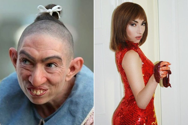 images of pepper from american horror story