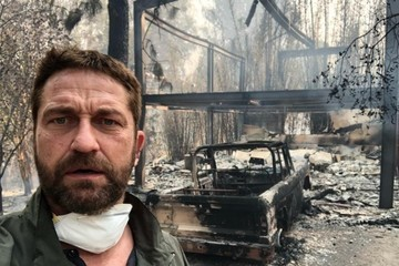 Gerard Butler, Robin Thicke Among Those Who Have Lost Their Homes In The Southern California Wildfire