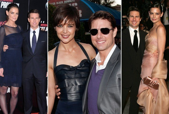 Tom Cruise and Katie Holmes Relationship Timeline