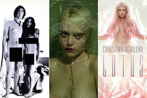 Musicians Who Get Naked for Their Album Covers