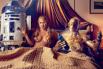 Disney & LucasFilm Were Not Amused with Amy Schumer's Sexy 'Star Wars' Spread