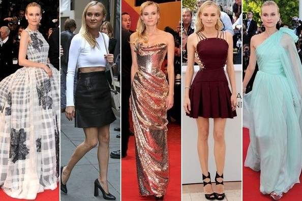 b207cbda6a44 Diane Kruger - The 10 Best Dressed Celebrities of 2012 - StyleBistro