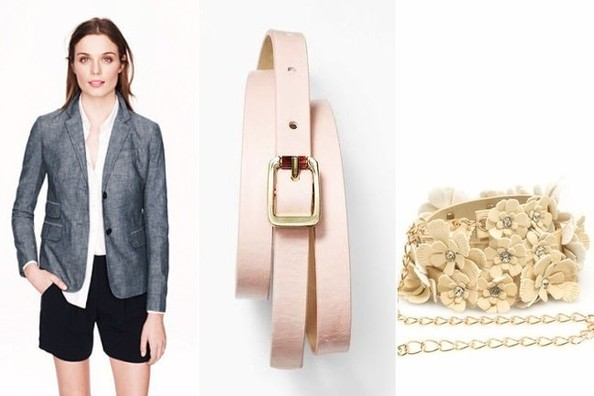 Easy Outfit Upgrade: Belt a Blazer