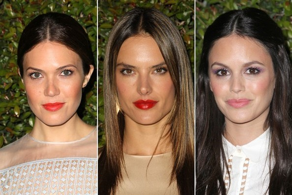 5 Different Ways to Style A Center Part