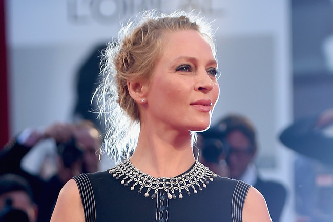 Hair Envy: Uma Thurman's Twisted Windblown 'Do