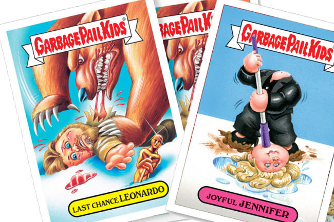These Oscar-Themed 'Garbage Pail Kids' Are Delightful