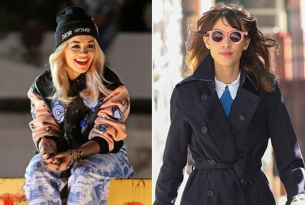 Guess Which Fashion Campaign Rita Ora Stole From Alexa Chung! Who's Your Fave? Vote Here!